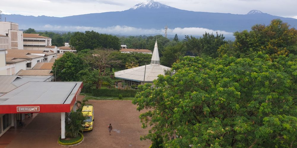 KCMC ER and Mount Kili